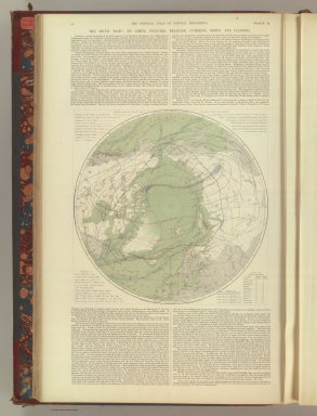 The Arctic Basin: Its Limits, Features, Drainage, Currents, Winds, and Climates.