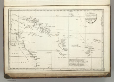 Part of the Great Pacific Ocean showing the Route of the Spanish frigate la Princesa commanded by D. Franco. Antonio Maurelle in 1781. Published as the Act directs Novr. 1st ,1798, by G.G. & J. Robinson, Paternoster Row. Neele Sc., Strand. No. 68.
