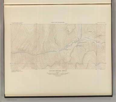 Lenado Park Special Sheet. Sheet XIX Topography. U. S. Geological Survey, Charles D. Walcott, Director. Monograph XXXI. A.H. Thompson, Geographer. F.M Douglas, Topographer in charge. Triangulation by E.M. Douglas. Topography by W.B. Gorse and R.H. Chapman. Surveyed in 1893. Julius Bien & Co. Lith. N.Y. (1898)