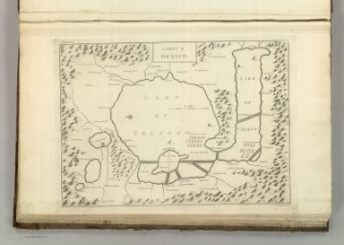 Lakes of Mexico. Front. Vol. II. A. Lawson Sculpt. (1824)