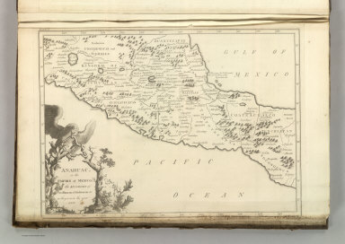 Anahuac, or the Empire of Mexico, the Kingdoms of Acolhuacan & Michuacan &c as they were in the year 1521. Front. Vol I. A. Lawson, sculp. Front .Vol.I. (1824)
