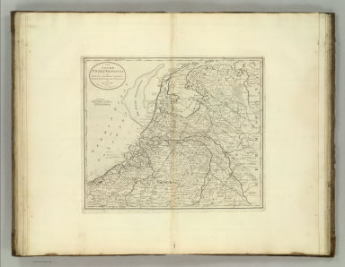 The Seven United Provinces of Holland, Groningen, Gelders, Friesland, Overyessel, Utrecht, and Zealand from the Best Authorities. C. Tiebout, Scl. N. York. (1824)