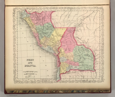 Peru and Bolivia. Entered according to Act of Congress in the year 1856 by Charles Desilver in the Clerk's office if the District Court of the Eastern District of Pennsylvania. 45.