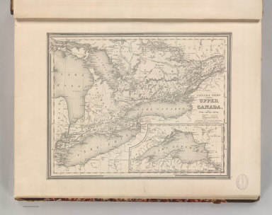 Canada West, formerly Upper Canada. Published By S. Augustus Mitchell, N.E. corner of Market & 7th Streets. Entered according to Act of Congress in the 1844, by H.N. Burroughs, - in the Clerk's Office of the District Court of the Eastern District of Pennsylvania. 4.