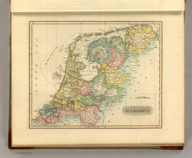 Holland. S. Harrison, Scl. (1822)