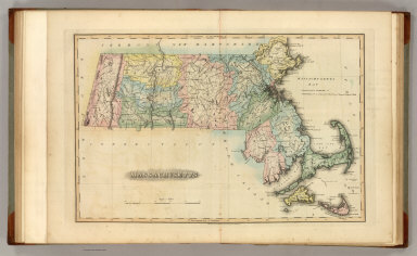 Massachusetts. Drawn & Published by F. Lucas Jr., Baltimore. (1822)