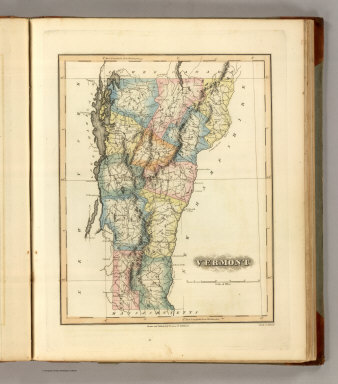 Vermont. Drawn & Published by F. Lucas Jr., Baltimore. S. Hufty Sc. Philada. (1822)