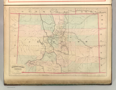 Asher & Adams' Colorado. Entered according to Act of Congress 1875 by Asher & Adams in the Office of the Librarian of Congress at Washington.