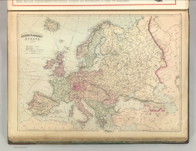 Asher & Adams' Europe. Entered according to Act of Congress 1874 by Asher & Adams in the Office of the Librarian of Congress at Washington.