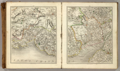 (Cary's New Map of England And Wales, With Part Of Scotland). Sheets 21-22.