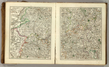 (Cary's New Map of England And Wales, With Part Of Scotland). Sheets 31-32.
