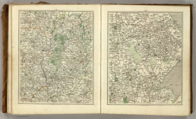 (Cary's New Map of England And Wales, With Part Of Scotland). Sheets 42-43.