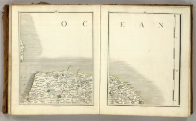 (Cary's New Map of England And Wales, With Part Of Scotland). Sheets 44-45.