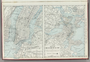 Rand, McNally & Co.'s Boston and New York.