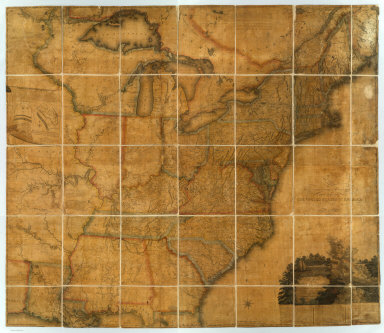 A Map of the United States and British Provinces of Upper and Lower Canada with other parts adjacent By Shelton & Kensett ... (above the title) To The President The Senators and Representatives of the United States This Map Of The United States Of America Is most Respectfully Dedicated by Shelton & Kensett 1816. Entered According ... October 1st, 1816 ... Connecticut. Projected by Thomas Kensett. A. Doolittle Sc.