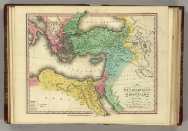 Patriarchati Orientales. Published by H.S. Tanner, Philadelphia. (1826)