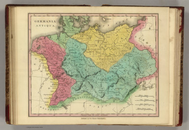 Germania Antiqua. Published by H.S. Tanner, Philadelphia. (1826)