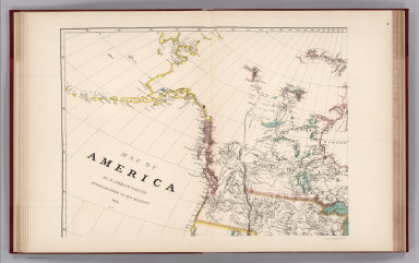 (Facsimile) Map of America (northwest portion) by A. Arrowsmith, Hydrographer to His Majesty, 1822. Additions to 1824.
