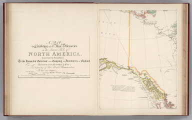 (Facsimile) A Map Exhibiting All the New Discoveries in the Interior Parts of North America, Inscribed by Permission to the Honorable Governor and Company of Adventurers of England, Trading into Hudson's Bay. A Testimony to their Liberal Communications To their most Obedient and very Humble Servant A. Arrowsmith. ... January 1, 1795. Additions to 1811, 18, 19, 20, 24, 33. London. Published Jan. 1, 1833 by S. Arrowsmith No. 10 Soho Square _ Hydrographer to His Majesty. Alaska Boundary Tribunal, 1903. 12. Photo. Lith. by A. Hoen & Co. Baltimore, MD.
