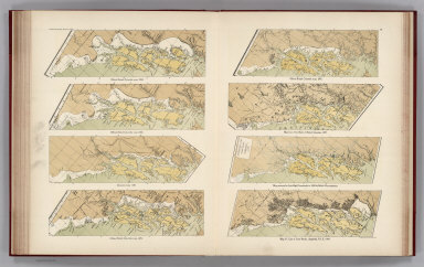 (Facsimiles) (Eight Comparison Maps Southern Alaskan Coast 1884-1903 (portions)): Official British Columbia map, 1884, Official British Columbia map, 1895, Official British Columbia map, 1884, Map of Year Book of British Columbia, 1897, Dawson's map, 1887, Map presented to Joint High Commission in 1898 by British Commissioners, Official British Columbia map, 1893, Map 37, Case of Great Britain, Appendix, Vol. II, 1903. Alaskan Boundary Tribunal, 1903. 28. Andrew B. Graham. Photo-Litho. Washington.D.C.