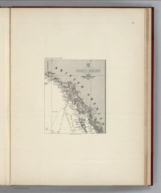 (Facsimile) North Pacific (portion), London Published by James Imray and Son, 89 Minories and Tower Hill, 1869. Alaskan Boundary Tribunal, 1903. 33. Andrew B. Graham. Photo-Litho. Washington.D.C.
