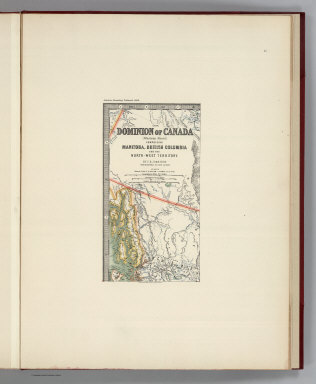 (Facsimile) (1894) Dominion of Canada (Western Sheet) Comprising Manitoba, British Columbia and the North-West Territory (portion). By T.B. Johnston. Geographer to the Queen. Alaskan Boundary Tribunal, 1903. 45. Andrew B. Graham. Photo-Litho. Washington.D.C.