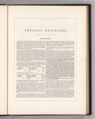 (Text Page) Physical Geography. Introduction.