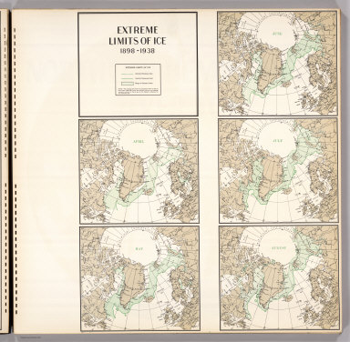 Extreme Limits of Ice, 1998 - 1938, April - August