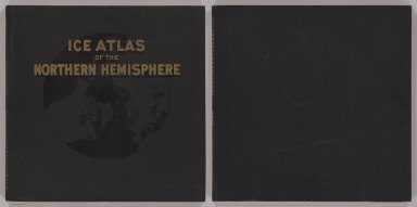 (Covers to) Ice Atlas of the Northern Hemisphere.