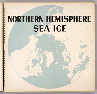 (Section Title Page) Northern Hemisphere Sea Ice.