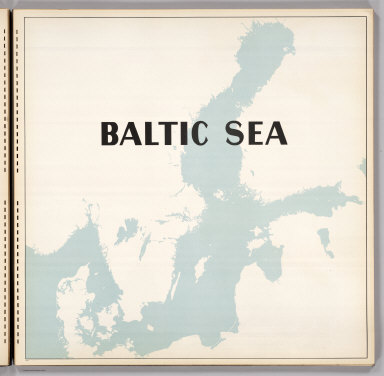 (Section Title Page) Baltic Sea.