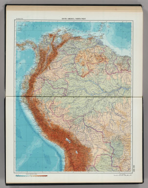 224-225. South America, North West. The World Atlas.