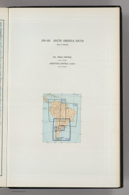 (Map Title Page) 230-231. South America, South. 232. Chile, Central, Argentina, Central (Pampa).
