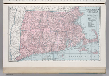 Southern New England. Massachusetts, Connecticut, and Rhode Island. 9357.
