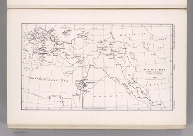 Coal Resources of the World. Turkey. Map No. 19. Asiatic Turkey Showing Location of Known Coal Fields.