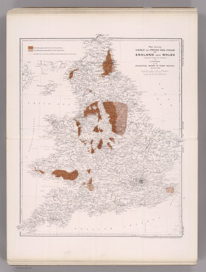 Coal Resources of the World. England and Wales. Map No. 29. Map Showing Visible and Proved Coal Fields of England and Wales prepared under the direction of A. Strahan at the Geological Survey of Great Britain. London 1912.