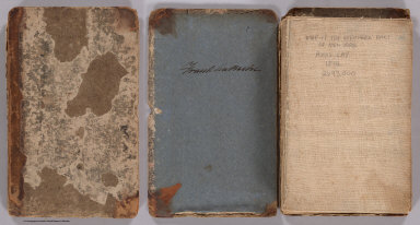(Covers to) Map Of The Northern Part of the State Of New York. Compiled from actual Survey By Amos Lay 1812. Entered ... 16th day of July 1812 by Amos Lay ... New-York.