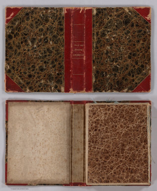 (Covers to) A Map of North America, Constructed According To The Latest Information ... Improved to 1828.