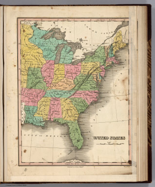 United States. Young & Delleker Sc. Published by A. Finley Philada.
