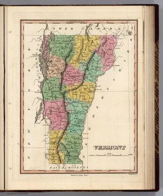 Vermont. Young & Delleker Sc. Published by A. Finley Philada.