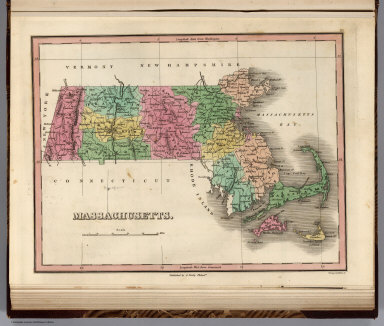 Massachusetts. Young & Delleker Sc. Published by A. Finley Philada.