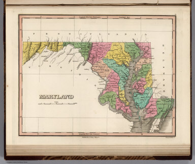 Maryland. Young & Delleker Sc. Published by A. Finley Philada.