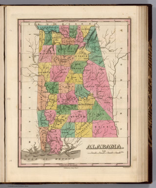 Alabama. Young & Delleker Sc. Published by A. Finley Philada.