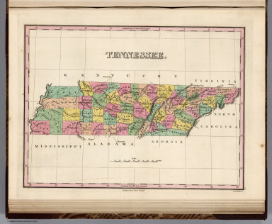 Tennessee. Young & Delleker Sc. Published by A. Finley Philada.