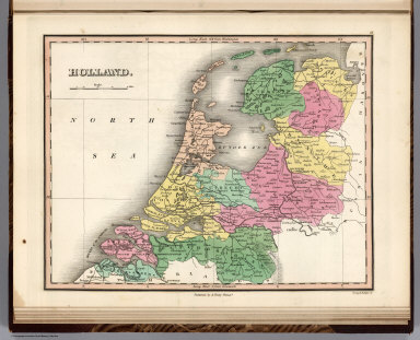 Holland. Young & Delleker Sc. Published by A. Finley Philada.