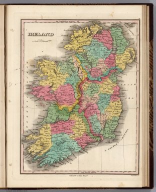 Ireland. Young & Delleker Sc. Published by A. Finley Philada.