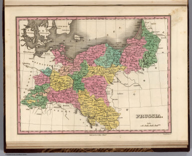 Prussia. Young & Delleker Sc. Published by A. Finley Philada.