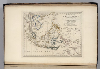 The Islands of the East Indies with the Channels between India, China & New Holland comprising Philippine Isles ... Moluccas ... Isles of Sunda. Scoles sculp.