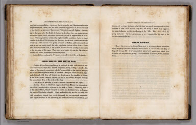 (Text Page) Gemini - the Twins (continued). Canis Minor - the Little Dog. Harpa Georgii.