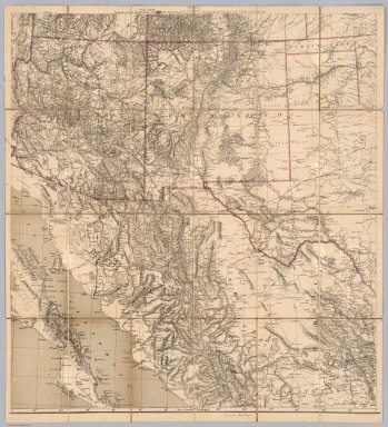 Map of the Territory of the U.S. West of the Miss. Riv. Sheet no. 5. (Prepared by authority of the Hon. the Secretary of War in the Office of the Chief of Engineers under the direction of Brig. General A.A. Humphreys Chief of Engineers and Brevet Maj. Gen. U.S. Army. By Edward Freyhold 1879)